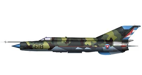 Mikoyán-Gurévich MiG-21 Bis, Fuerza Aérea Revolucionaria.