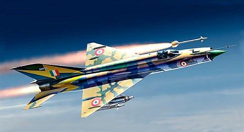 Mikoyán-Gurévich MiG-21 MF Fishbed, Fuerza Aérea de la India.