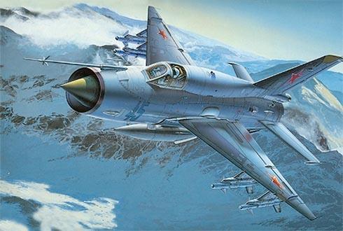 Mikoyán-Gurévich MiG-21 SMT Fishbed, Fuerza Aérea de la URSS.