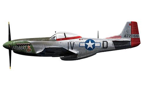 North American P-51 Mustang, 359º Grupo de Cazas, 369º Escuadrón de Cazas, Fuerza Aérea de los Estados Unidos, 1945.