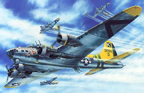Boeing B-17G Flying Fortress ''A bit o' lace'', 447º Grupo de bombarderos, Fuerza Aérea de los Estados Unidos,