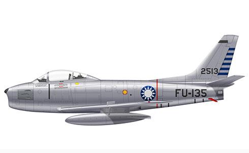 North American F-86 F Sabre, Fuerza Aérea de la República de China, 1966.