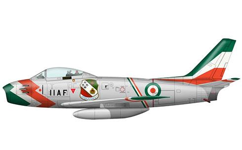 North American F-86 F Sabre, Fuerza Aérea Imperial Iraní, 1965.