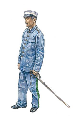 Oficial insurgente Filipino, Fuerzas de Aguinaldo, Luzón, 1898.