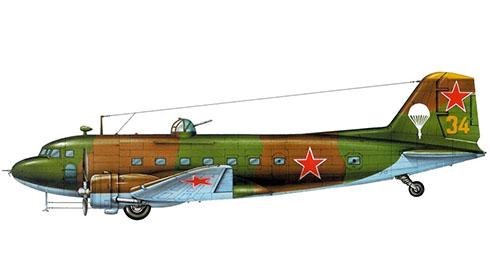 Lisunov Li-2 Cab, 53º Escuadrón, Fuerza Aérea Soviética, Otoño de 1944.