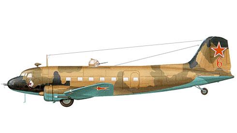Lisunov Li-2 Cab, Fuerza Aérea Soviética, primavera de 1944.