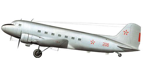 Lisunov Li-2 T Cab, Fuerza Aérea Húngara.