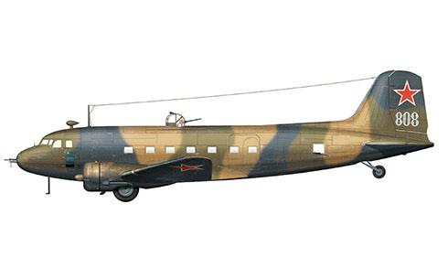 Lusinov Li-2 Cab, Fuerza Aérea Soviética, 1943.