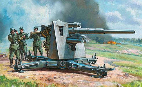 Cañón 88 mm Flak 37,
