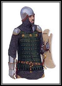 Caballero Teutón, siglo XIV.