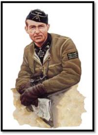 Comandante Willi Jähde, División Panzer 502. Con marco