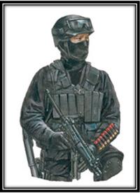 Grupo de respuesta operativa móvil Polaco GROM, Irak, 2003.