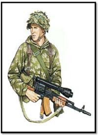 Soldado Soviético, Afghanistán, 1980.