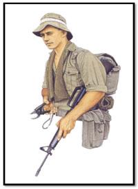 Teniente, 2º Batallón, 7ª Gurkha Rifles, Lumbis, Junio de 1965.
