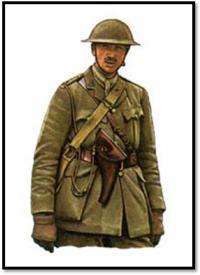 Teniente de Caballería Británico, Escuadrón C, Francia, 1917.