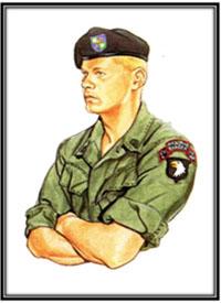 U.S. Army Ranger del 75º de Infantería, Vietnam, 1969.