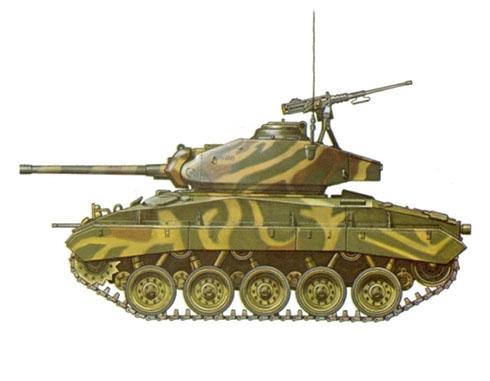 M24 Chaffee perteneciente al ejército francés, Dien Bien Phu, 1954.