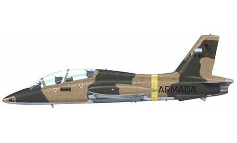 Aermacchi MB-339 A, Armada Argentina, Malvinas, 1982.