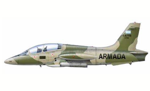 Aermacchi MB-339 A, Armada Argentina,