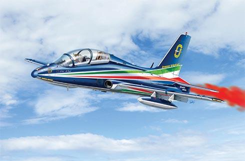 Aermacchi MB-339 A PAN, Aerobatic Team Frecce Tricolore, Aeronautica Militare Italiana.