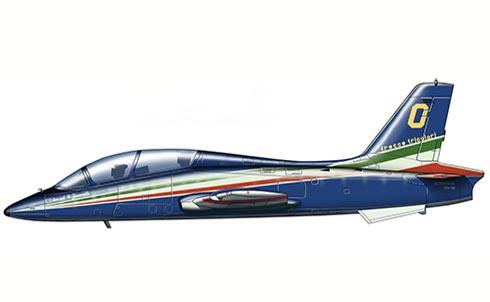 Aermacchi MB-339 A PAN, Equipo Acrobático Frecce Tricolore, Aeronautica Militare Italiana.