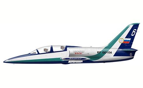 Aero L-39 C Albatros, Escuadrón de Vuelo Acrobático Russ, Vyazma, Rusia.
