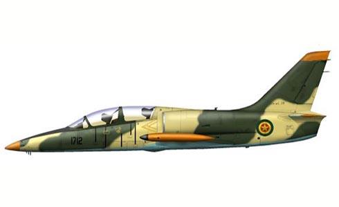 Aero L-39 C Albatros, Fuerza Aérea de Etiopía.