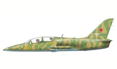 Aero L-39 C Albatros, Instituto de Investigación de Vuelo Gromov, Fuerza Aérea Rusa,