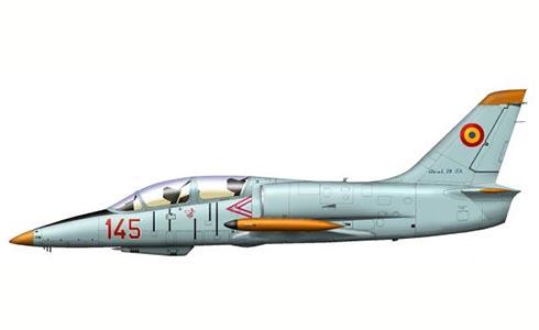 Aero L-39 ZA Albatros, Academia Militar de Vuelo, Fuerza Aérea Rumana, 1989.
