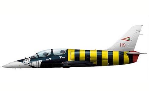 Aero L-39 ZO Albatros, 59º Escuadrón Táctico, Fuerza Aérea Húngara, 2006.