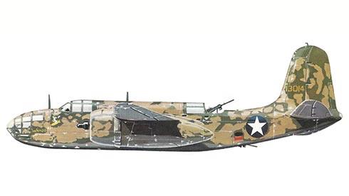 Douglas A-20 B Havoc, 97º Escuadrón, 47º Grupo de Bombarderos, USAAF, 1943.