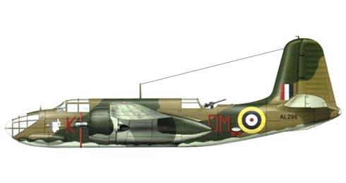 Douglas A-20 Boston Mk.III, 107º Squadron, RAF, Great Massingham, Marzo de 1942.