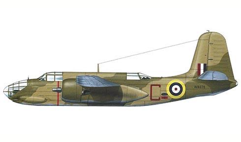 Douglas Boston Mk.III, 12º Escuadrón, Fuerza aérea Sudafricana, 1943.