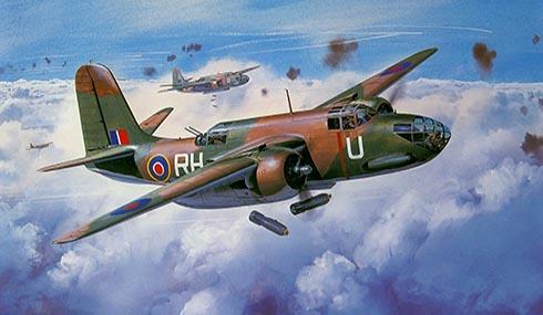 Douglas Boston MkIII del 88º Escuadrón de la Royal Air Force.