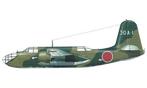 Douglas DB-7 B capturado por el ejército Japonés.