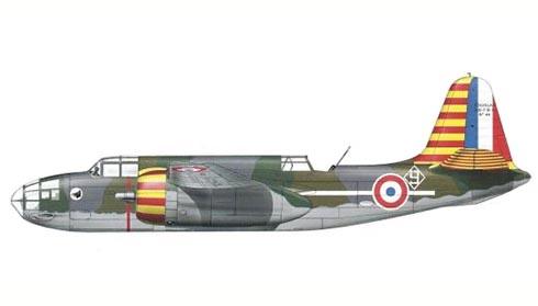 Douglas DB-7 B3, 1ª Escuadrilla, Fuerza Aérea de Vichy, 1942.