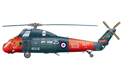 Westland Wessex, 771º Escuadrón, Royal Navy Air Station Culdrose, 1988.