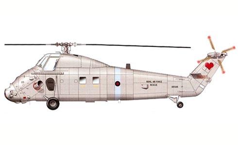 Westland Wessex HC.2, 84º Escuadrón, RAF, Shawbury, 2003.