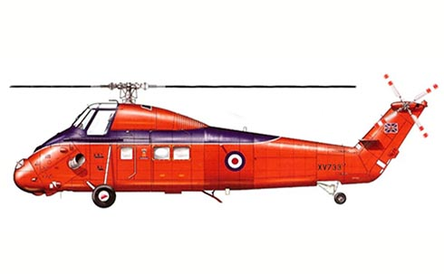 Westland Wessex HCC.4, The Queen's Flight, 1987.