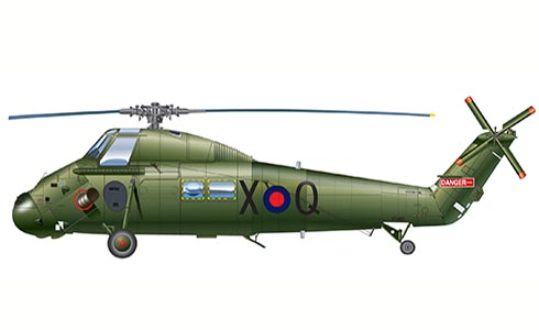 Westland Wessex UH.5, 874º Escuadrón, Royal Navy, Falklands Islands, 1982.