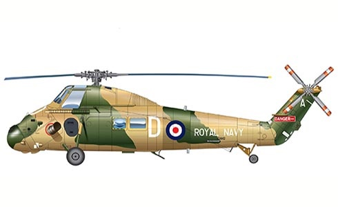 Westland Wessex UH.5, Royal Navy, RAE, Farnborough, Reino Unido, 1982