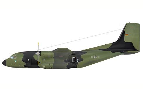 Transall C-160 D, 61º Escuadrón de Transporte, Luftwaffe.