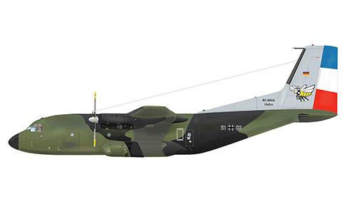 Transall C-160 D, Luftransportgeschwader 63, Luftwaffe.