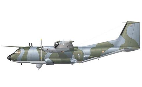 Transall C-160 G, 1-54º Escuadrón de Transporte, Armée de l'Air, Metz, 1992.