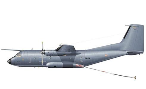 Transall C-160 NG, 1-64 Escuarón de Tramsporte, Armée de l'Air, Evreux, Francia.