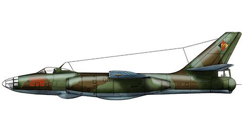 Ilyushin Il-28 Beagle, Fuerza Aérea de Alemania del Este.