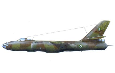 Ilyushin Il-28 Beagle de la Fuerza Aérea Federal de Nigeria.