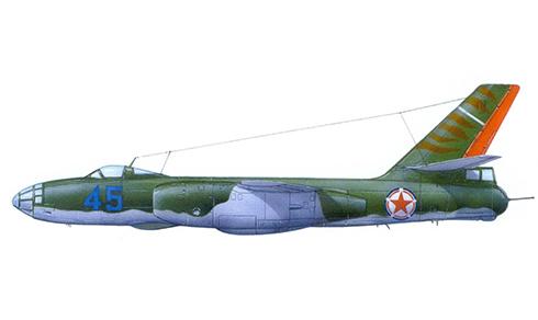 Ilyushin Il-28 Beagle, Fuerza Aérea de Corea del Norte.