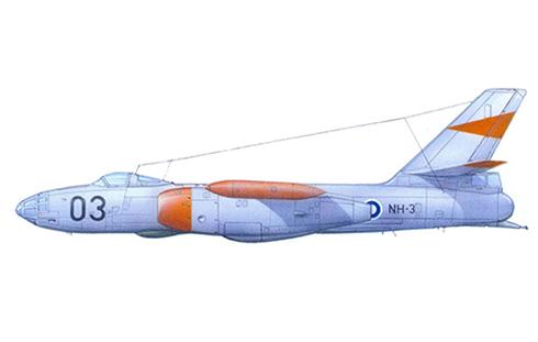 Ilyushin Il-28 R Beagle (Il-28BM), Fuerza Aérea Finlandesa.