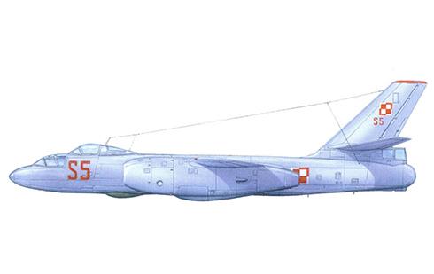 Ilyushin Il-28 U Beagle, Fuerza Aérea Polaca.
